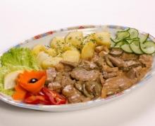 Свинско филе Карузо