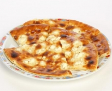 Pita bread with cheese