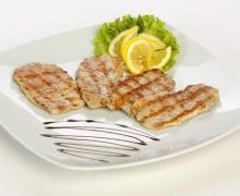 Pork grilled stripes